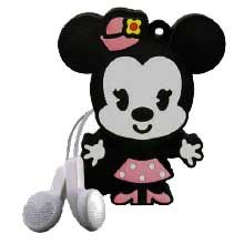 DISNEY - MP3 2GB CON FORMA DE MINNIE