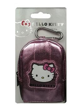 HELLO KITTY - FUNDA CAM DIG ROSA METALIZADO