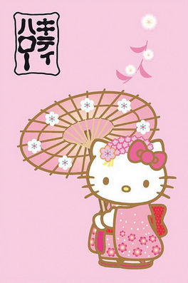 HELLO KITTY - MANTA POLAR 100X150 JAPON