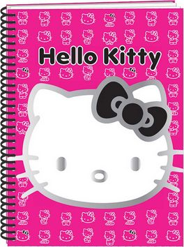 HELLO KITTY - LIBRETA ESPIRAL A5
