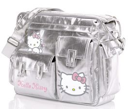 HELLO KITTY - BOLSO CAMBIADOR FREE STYLE COLOR PLATA