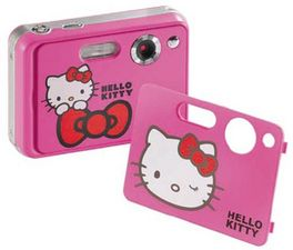 HELLO KITTY - PACK CAM HEC002M + FUNDA HEA030Z