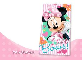 Minnie - Toalla de playa Love Bows